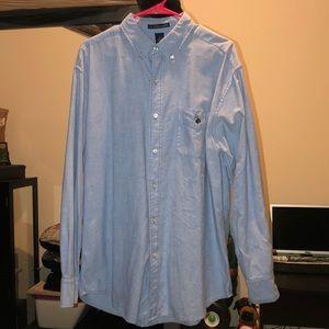 U.S. Polo Assn Chanbray Long Sleeve Shirt Large